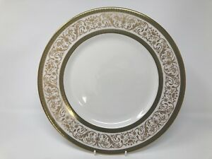 "Minton 'Aragon' 10.5"" Dinner Plate - 1st Quality"