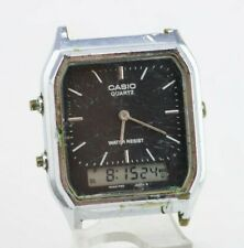 I858 Vintage Casio Analog Digital Quartz Watch AQ-230 Mod.1301 Original JDM 37.1