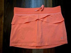 KYODAN Women's Skort Neon Orange Sz M