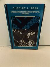 Introduction to Ordinary Differential Equations 1989 4th edition Shepley Ross