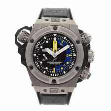 Hublot King Power Oceangraphic 1000 Auto Titanium Mens Watch 732.NX.1127.RX