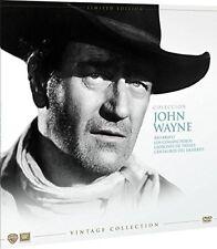 JOHN WAYNE EDICION VINILO DVD VINTAGE NUEVO ( SIN ABRIR ) 4 PELICULAS