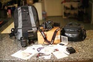 Canon 70D 20.2mp with 18-55mm and 18-135mm lenses, Speedlite 380EX flash & more!