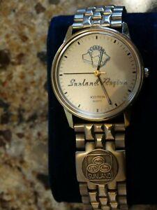 Vintage Accutron Quartz  State Farm Insurance  Sunland Region  Men's Wrist Watch