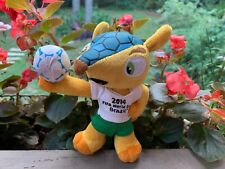 FIFA World Cup 2014 Brazil Keychain Official Licensed Plush Stuffed Toy 5""