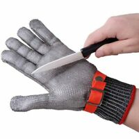 Safety Stainless Steel Butcher Protect Glove Cut Proof Gloves High Quality 1pcs