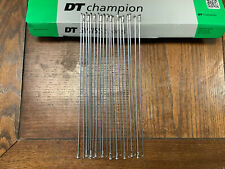 DT SWISS Competition Spokes 286mm 14g//15g 2.0//1.8 Lot of 10 Black NEW RITCHEY