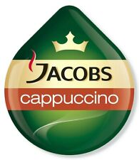 8 x Tassimo Jacobs Cappuccino Classico T Discs Pods Sold Loose - 4 Drinks