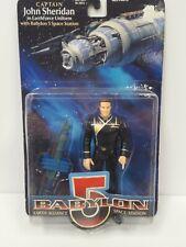 1997 Wb Toys Babylon 5 John Sheridan In Earthforce Uniform