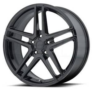 16x7 Rims AMERICAN RACING AR907 5x114.3 ET40 Black Wheels (Set of 4)