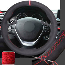 Suede Full Wrap Steering Wheel Cover for BMW 3 Series 328i 335i 340i 12-16 New