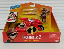 The Incredibles 2 Elasticycle Elastigirl Vehicle Playset Action Figure Disney