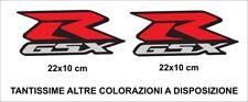 2 Adesivi SUZUKI GSX R 1000 750 600 Coppia Alta qualità Stickers Decals