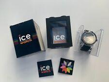 Ice Watch Men's XX.OE.XX.R.09 XXL Orange Dial Black Rubber Strap Watch