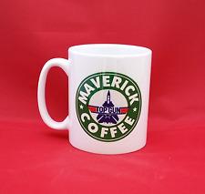Top Gun Tom Cruise Maverick Starbucks Inspiré Mug Café 10 oz (environ 283.49 g)