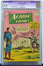 ACTION COMICS #231 CGC 6.0 Superman 1957