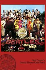 The Beatles Poster Iconic Sgt Pepper Album Cover Poster, 24x36