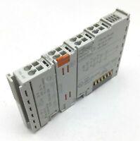 Wago 750-430 Digital Input Module, 8-Channel, Voltage: 24VDC, 2.8mA per Channel