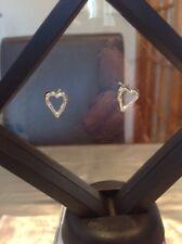 Gucci Bamboo Heart Earings Silver