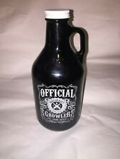 Witch craft Collectible Empty Glass Bottle Growler Austin Texas Craft Beer store