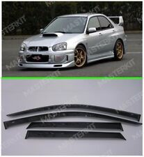 For Subaru Impreza 2000-08 Window Visors Sun Rain Visors Deflectors Sedan/Wagon
