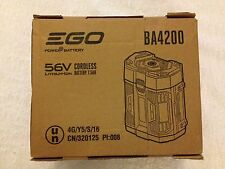 New EGO BA4200 56V 56 Volt 7.5 Ah ARC Lithium Ion Battery Integrated Fuel Gauge