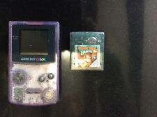 Nintendo Game Boy Clear Handheld System