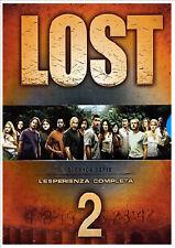 LOST - STAGIONE 02 SERIE COMPLETA  8 DVD  COFANETTO
