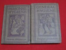 GENERAL HYGIENE 1913 1ST. & PERSONAL HYGIENE 1913 1ST. / FRANK OVERTON