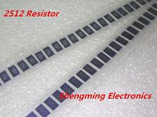 100PCS 2512 (6432) 1W 51 Ohm 51R 510 5% SMD resistors