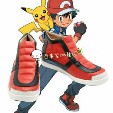 Pokemon Pocket Monsters Ash Ketchum Cosplay Shoes Boots Cos Shoes