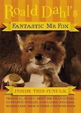 Fantastic Mr Fox Funfax (Fantastic Mr Fox film tie-in) by Dahl, Roald Hardback