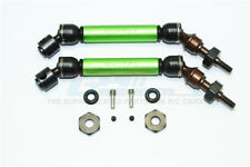 Traxxas Slash 4X4 Upgrade Parts Steel+Aluminum Front CVD Drive Shaft - Green