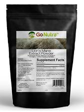 Lion's Mane Mushroom Powder 30% Polysaccharides Non-GMO 4oz Pure Extract