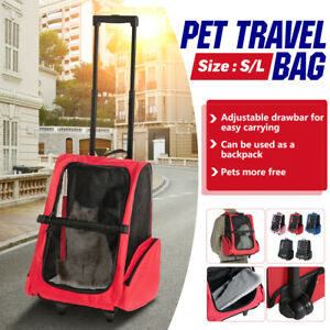 Pet Carrier Backpack Carrying Bag Dog Cat Puppy Breathable Outdoor Travel  x*