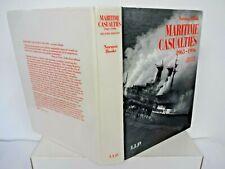 maritime casualties 1963-1996 2nd edition norman hooke hardback book