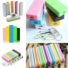 5600mAh USB Portable External Backup Battery Charger Power Bank Case For Phone~