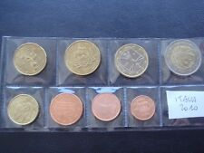 Italy 2010 year UNC coin set from 1 cent - 2 euro total 8 coins 3,88 euro