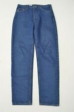 Carhartt 36 x 36 Straight Leg Dark Wash Denim Jeans