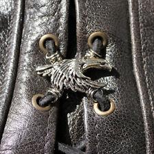 Biker Schnürung Eagle Adler Westen Jacken Stiefel Lace Up Pin Anhänger NEU