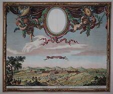 Philippsburg - Philipsbourg au Palatinat - Rarer Kupferstich von Beaulieu - 1662