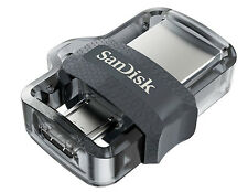 SanDisk 128 GB Ultra Dual USB m3.0 OTG Pen Drive 128 GB