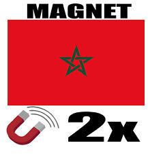 2x PANAMA Drapeau Magnet 6x3cm Aimant déco PANAMA magnétique frigo