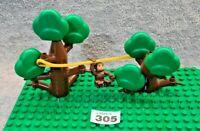Lego Duplo Vintage Trees Plus Rare Monkey Figure Free UK Delivery