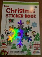 Tinsel town Christmas sticker book over 1000 stickers A4 size