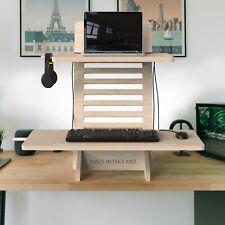 Fayrland Standing Desk Converter - Premium Height Adjustable Laptop Sofa Stand