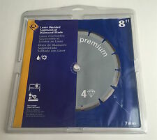 "8"" Segmented Diamond Blade Premium - 10 Pack"