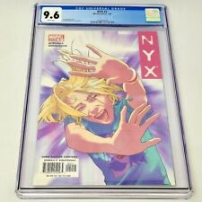 Marvel NYX #2 CGC 9.6 X-23 X-men Wolverine All New 2004 Rare Quesada NM+