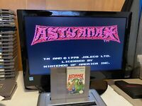 🔥100% WORKING NINTENDO NES RARE RPG Game Cartridge + Manual - ASTYANAX 🔥