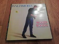 """BALTIMORA * WOODY BOOGIE * 12"""" VINYL EXCELLENT 1985"""